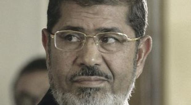 Deposed: Mohammed Morsi