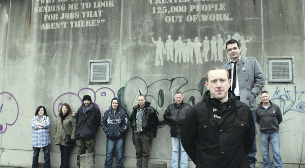 State of shame: unemployed people in Belfast call on the government to boost jobs here