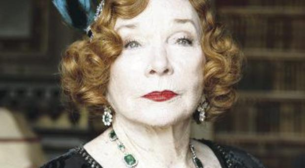 Shirley Maclaine in Downton
