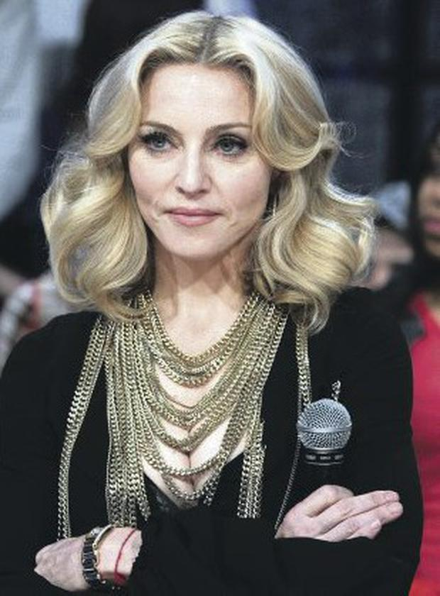 Speaking out: Madonna
