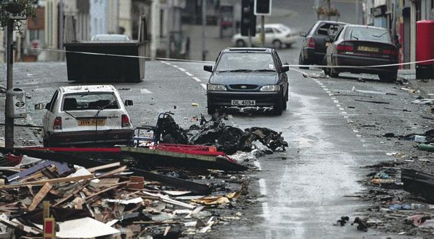 Terror tactics:The aftermath of the Omagh bomb