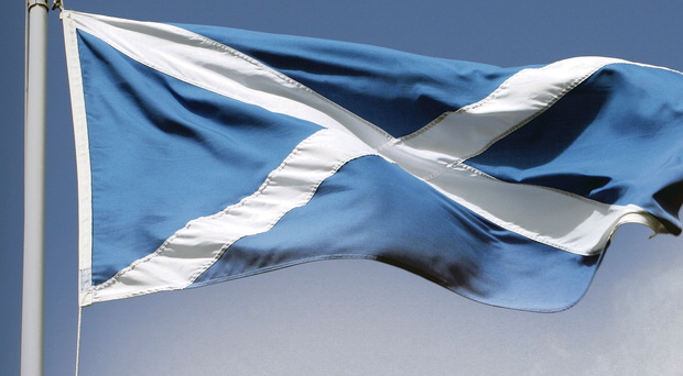 Scottish saltire