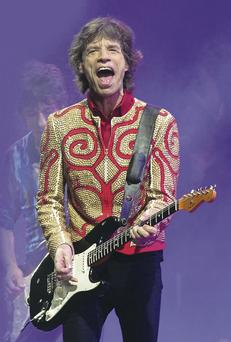 Rolling in it: Mick Jagger is worth around £200m