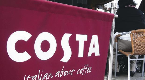 Costa grew sales by 4.5% despite tougher comparisons against a year earlier