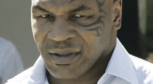 Reformed boxer: Mike Tyson