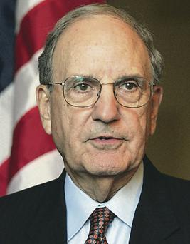 Deal maker: George Mitchell