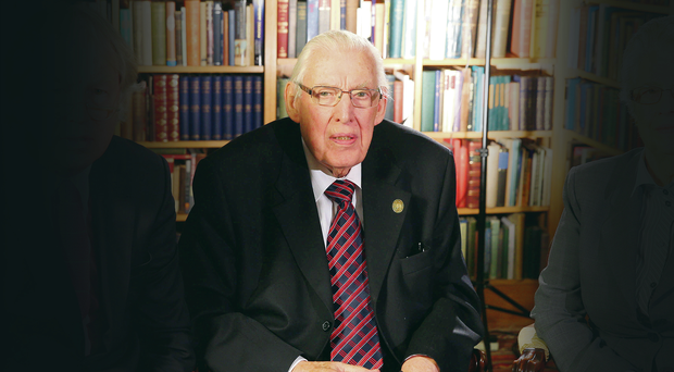 Revelations: Ian Paisley was scathing about Peter Robinson.