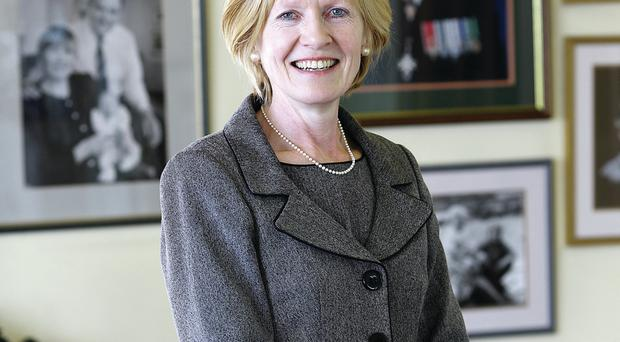 Lady Sylvia Hermon, current MP for North Down, pictured at her home as she prepares for the forthcoming general election