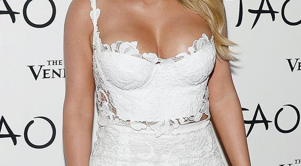 Bride-to-be: Kim Kardashian