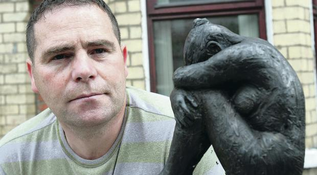 Love and loss: Philip McTaggart who lost his teenage son Philip