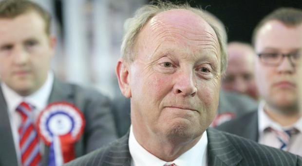 TUV leader Jim Allister secured almost 76,000 votes in the European elections