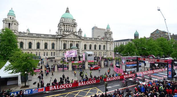 The Giro d'Italia brought positive attention to Northern Ireland