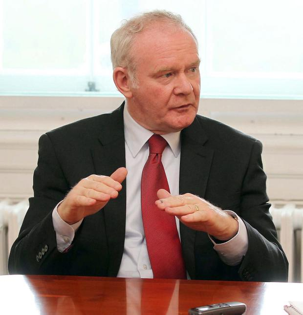 Leadership: Martin McGuinness