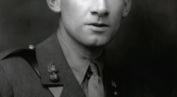 Controversial words: Siegfried Sassoon ferociously attacked the conduct of war