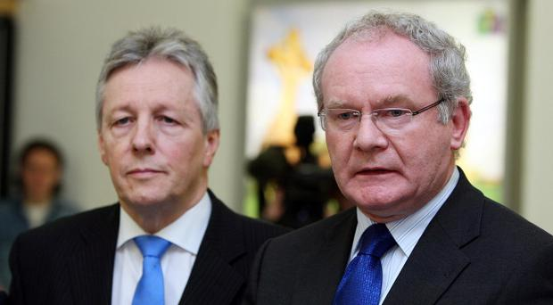 Peter Robinson and Martin McGuinness will discuss possible reforms with their Scottish and Welsh counterparts.