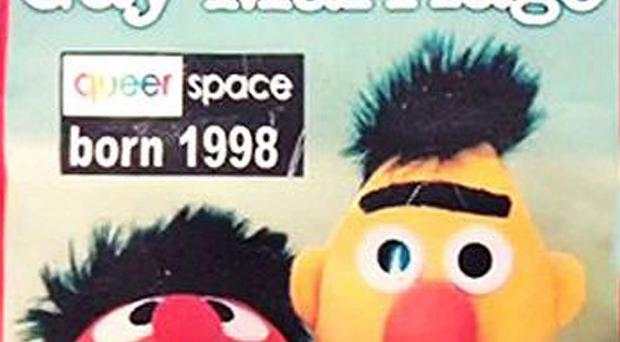 Bert and Ernie from Sesame Street and the message that sparked our gay cake row