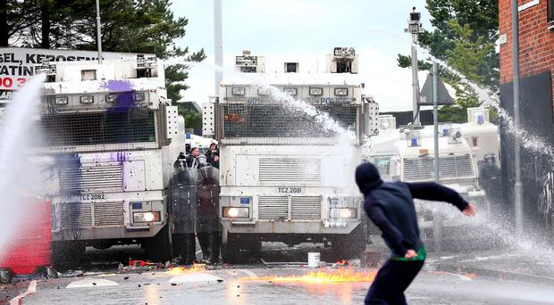 Troubled times: Riots in Belfast