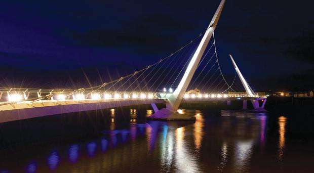 An investigation into how a catamaran belonging to the Loughs Agency sank in the River Foyle has begun