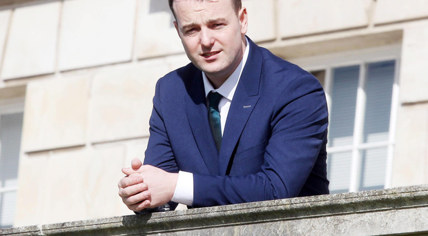 SDLP leader Colum Eastwood at Stormont