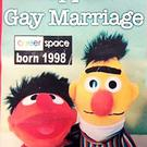 Bert and Ernie from Sesame Street and the message that sparked gay cake row