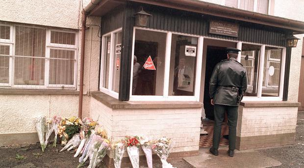 Loughinisland shooting scene