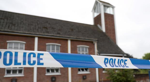 Saintfield Road Presbyterian Church and its neighbouring hall sustained damage in arson attacks