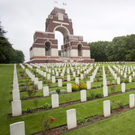 The majestic Thiepval Memorial remembers the Somme's missing men