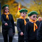The commemoration parade for IRA member Patricia Black held in Lenadoon last week