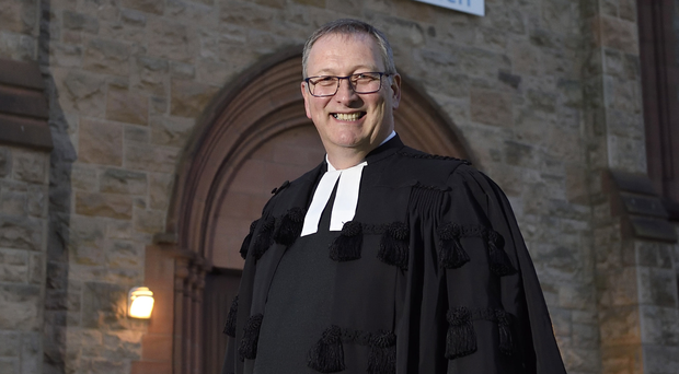 Inspirational speech: Dr Frank Sellar was unflinching in his address about bigotry