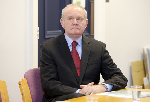 Martin McGuinness only asked Charter NI boss Dee Stitt to consider his position
