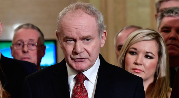 Martin McGuinness' time as a leading figure in Sinn Fein may soon be coming to an end