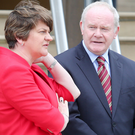 First Minister Arlene Foster and Deputy First Minister Martin McGuinness