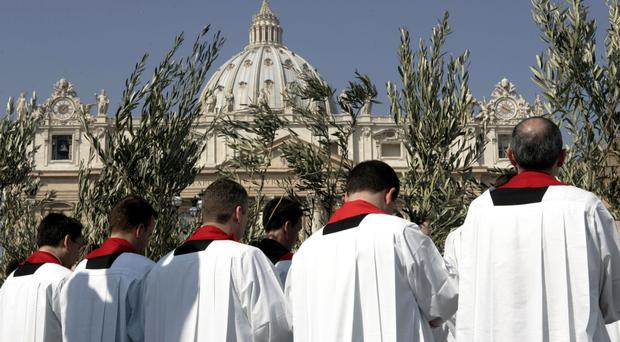 decline of priests and religious vocations