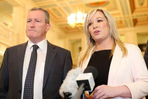 Michelle O'Neill takes over from McGuineess at Sinn Fein