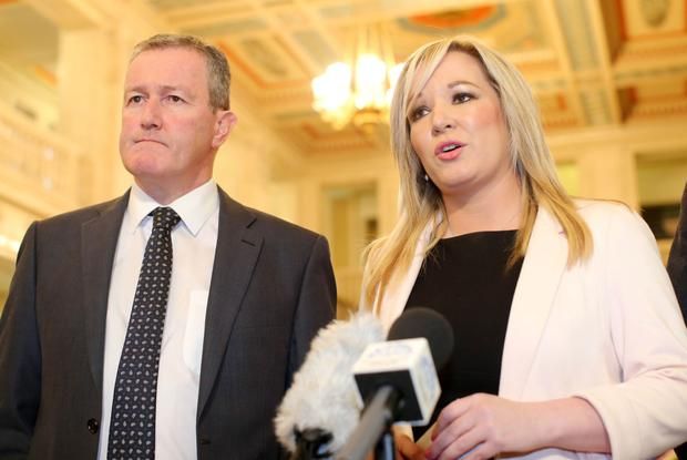 Conor Murphy and Michelle O'Neill