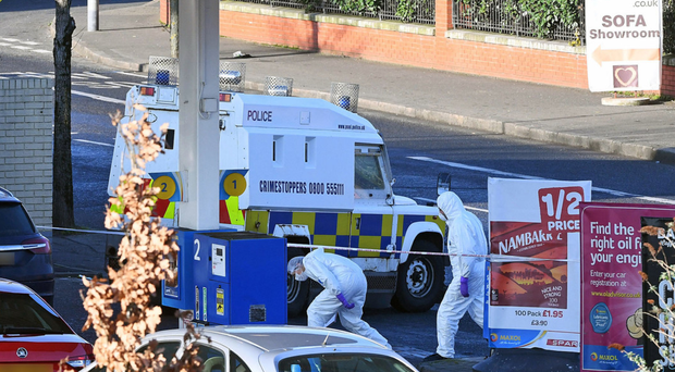The shooting of a police officer on the Crumlin Road on Sunday night was quickly condemned by Sinn Fein's Gerry Kelly