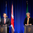 Taoiseach Enda Kenny TD and Prime Minister Theresa May in Dublin last week where amongst other things they discussed the issue of Brexit