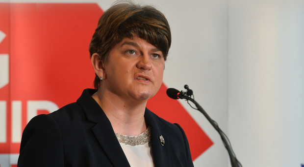 Arlene Foster says a Sinn Fein victory would allow Gerry Adams to push a republican agenda
