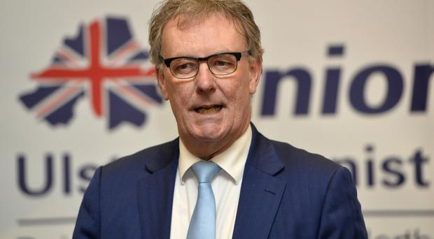 UUP leader Mike Nesbitt delivers his resignation speech