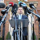 Secretary of State James Brokenshire has few options as he picks through the debris of the talks
