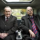 Colm Meaney and Timothy Spall as Martin McGuinness and Ian Paisley in The Journey