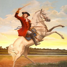 Protestant icon: a picture depicting King William astride a white horse. The image has become synonymous with Orangeism