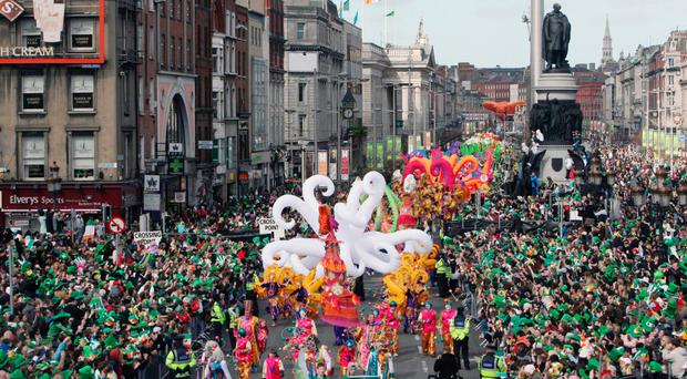 St Patrick's Day in Dublin is already a big time of celebration