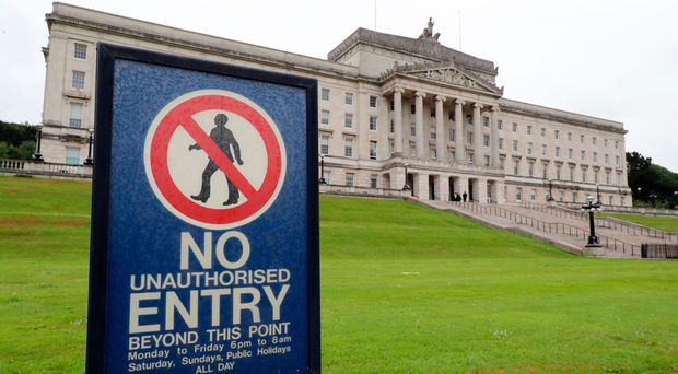 The future of power-sharing at Stormont still hangs in the balance