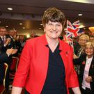 Party leader Arlene Foster at last year's DUP conference