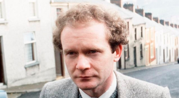 Martin McGuinness in the 1980s