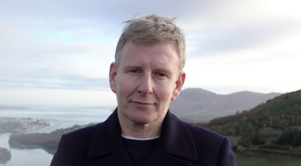 Patrick Kielty in the BBC documentary My Dad, The Peace Deal And Me
