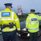 A PSNI and Garda operation at the border. But will the frontier still exist in the near future, or will Ireland be reunited?
