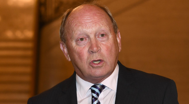 Could Jim Allister (pictured) dethrone Ian Paisley in North Antrim?