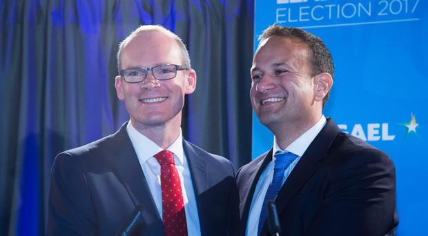 Simon Coveney and Leo Varadkar seem reluctant to admit Ireland's reliance on the United Kingdom